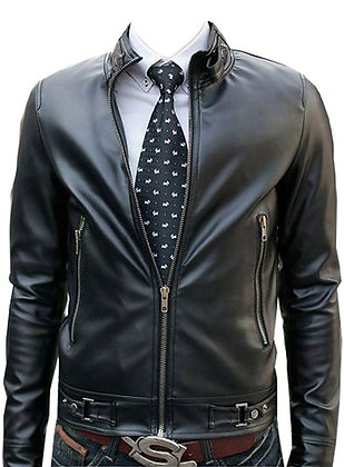 Simple Leather Jacket
