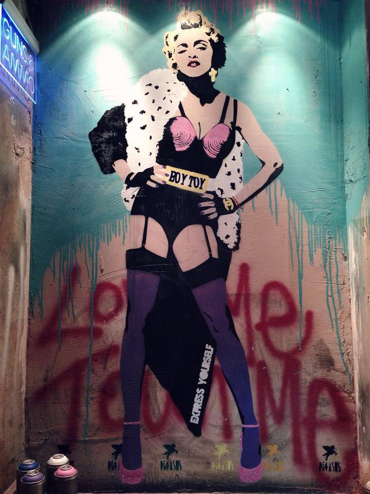 Madonna (Inside the Wellington club)
