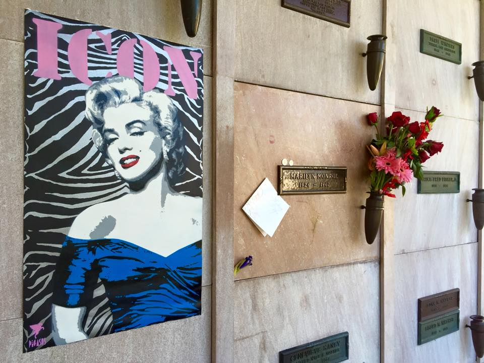 Marilyn Monroe Grave, LA