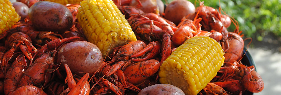 DELIVERY (crawfish/shrimp/crab ) minimums; No Sundays.