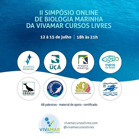II Simpósio Online de Biologia Marinha da Vivamar Cursos Livres