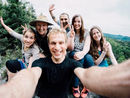 The Mansfelds go hiking!