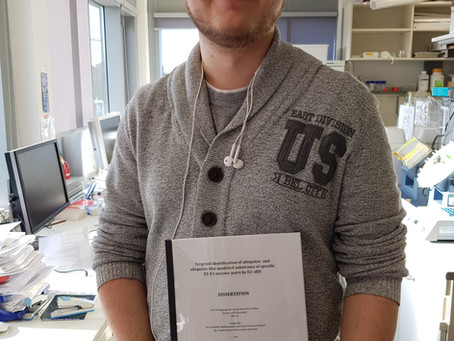 Gabor submitted his PhD Thesis!