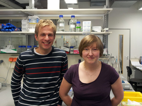 Mansfeld Lab first member - Magda joined!
