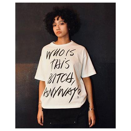 """""""WITBA?"""" T-Shirts ( WHITE )"""