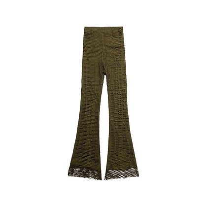 Marina cotton 70's Flare Pants