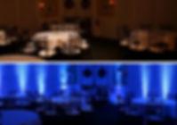 Up lights, uplighting, Up-lights, Gobo, VIP