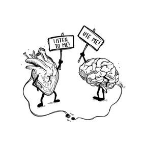 Cerebro vs Corazon