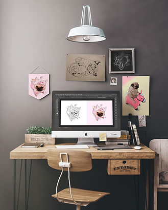 Workspace-Digital-Art-by-Lostanaw-Shop.j