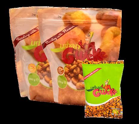 Urban Gweke corn snacks