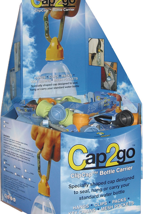 Cap2go™ Complete - Counter Display 72 units
