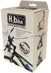 Hydration system for bikes and cyclists, fits any sport or standard water bottle