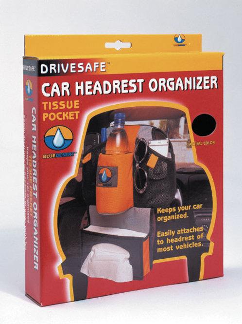 DriveSafe® - Car headrest organizer/ tissue pocket