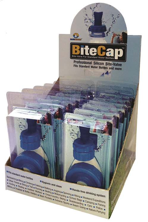 BiteCap™ Complete - Counter Display 12 units