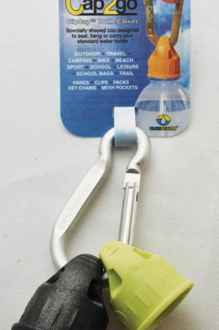 Cap2go™ Complete- ClipCap™ Bottle Carrier