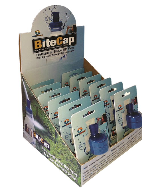 BiteCap™ Basic - Counter Display 18 units