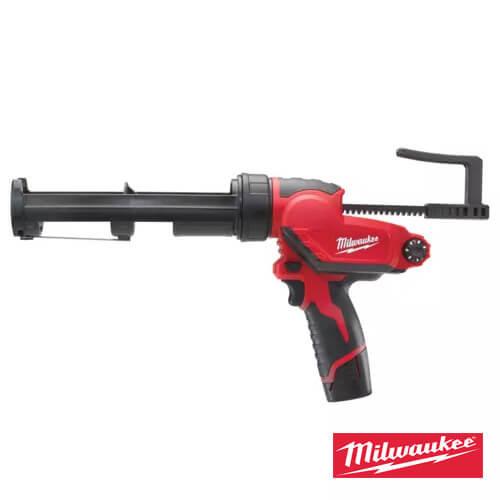 """אקדח סיליקון נטען 310 מ""""מ M12 PCG/310C Milwaukee"""