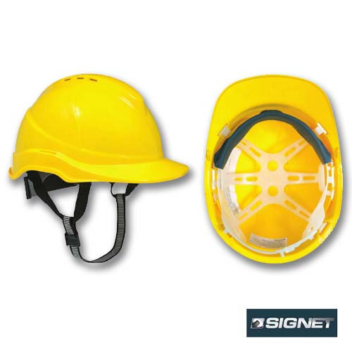 Signet קסדת מגן DELUX מחומר ABS