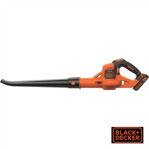 מפוח עלים נטען דגם Black & Decker GWC1820PC