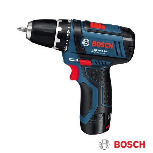 מקדחה/מברגה Bosch GSR 10.8V-2-LI בוש