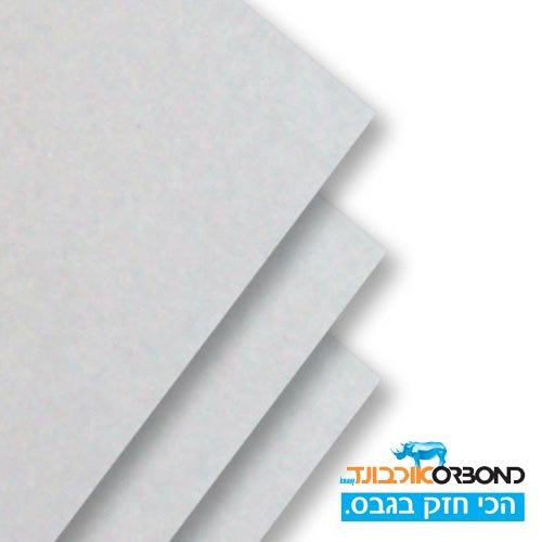 לוח גבס אורבונד לבן עובי 12.5 ממ