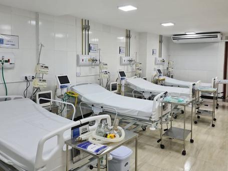 Aracaju passa a ter trinta novos leitos para combate a COVID, anexo à maternidade Santa Isabel