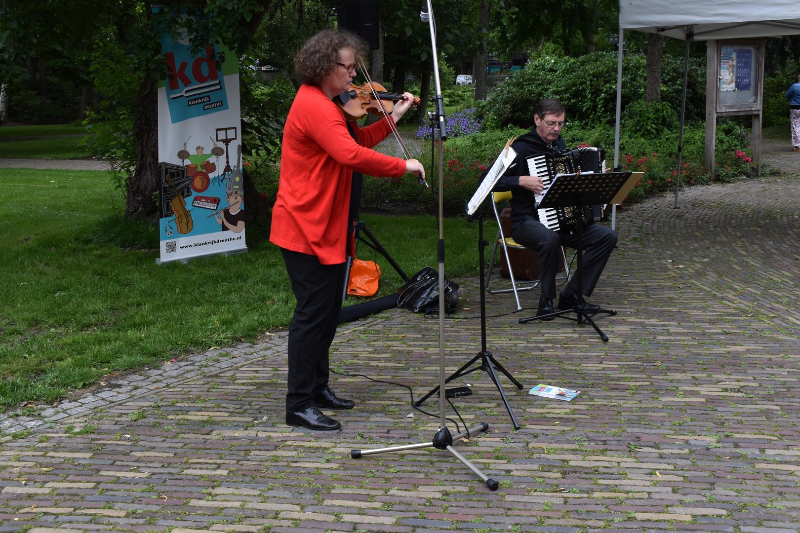 Saskia Rozeveld en Henk Puister