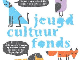 Nieuwe website Jeugdcultuurfonds