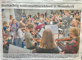 In de krant met het Keuning Jeugd Orkest!