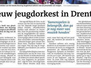 Nieuw orkest in Drenthe!