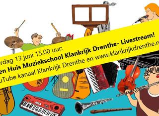 Open Huis Klankrijk Drenthe - Livestream!