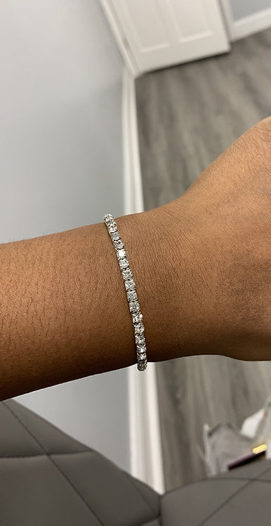 Icy Girl Tennis Bracelet