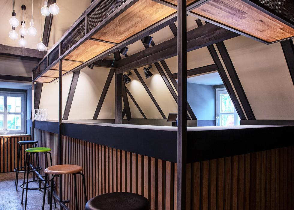 Bar in der Jägerlounge | Grüner Jäger |St. Pauli | Hamburg