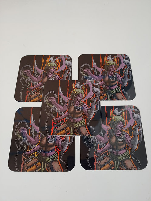 Nishta Holographic Sticker