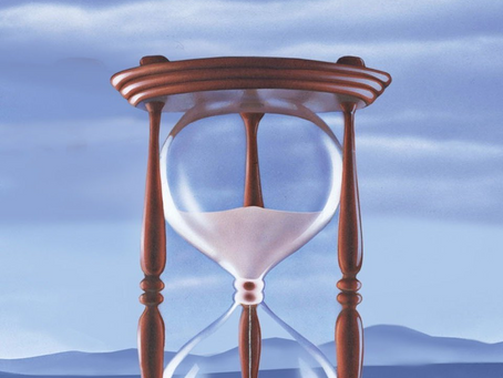 """And so like the hour glass, so too are the """"Days of Our Lives"""""""