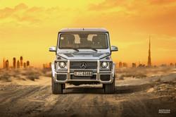 Mercedes G63 2015 Dubai