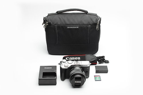 Canon M6 24MP Mirrorless With EF-M 15-45mm