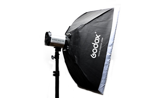 Godox Hedflash with Softbox