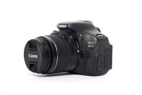 Canon 600D With Lens 18-55mm