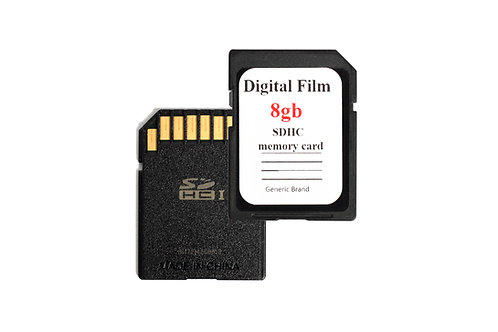 Digital Film 8 GB SDHC