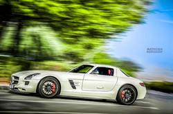 SLS Cars Photography In Dubai