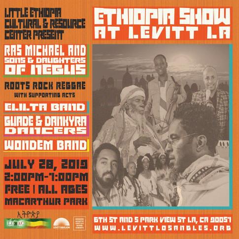 Ethiopia Show at Levitt LA