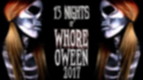 13 Nights of WhoreOween