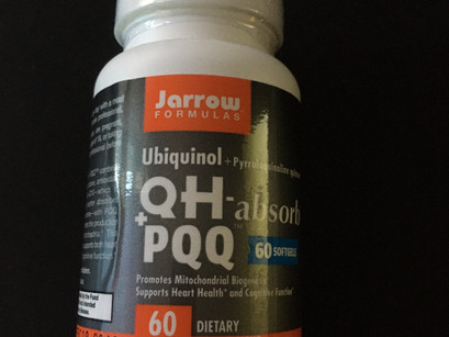 재로우 유비퀴놀 QH + PQQ 소프트젤 효능과 구매방법