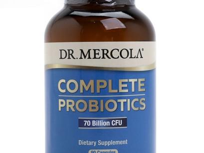 과민성대장증후군에 좋은 유산균 Dr. Mercola 닥터 머콜라 컴플리트 프로바이오틱스 DDS-1라이선스 유산균의 종류와 효능