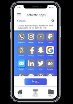 Zone In - App Selection