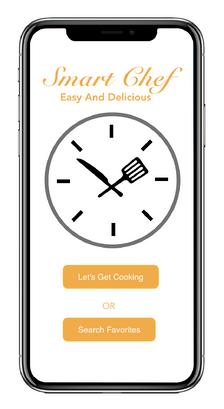 Smart Chef - Home Screen