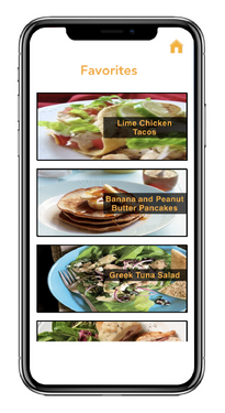 Smart Chef - Favorites Screen