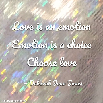 Love is an emotion.