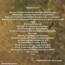 Secrets and Lies Deborah Joan Jones